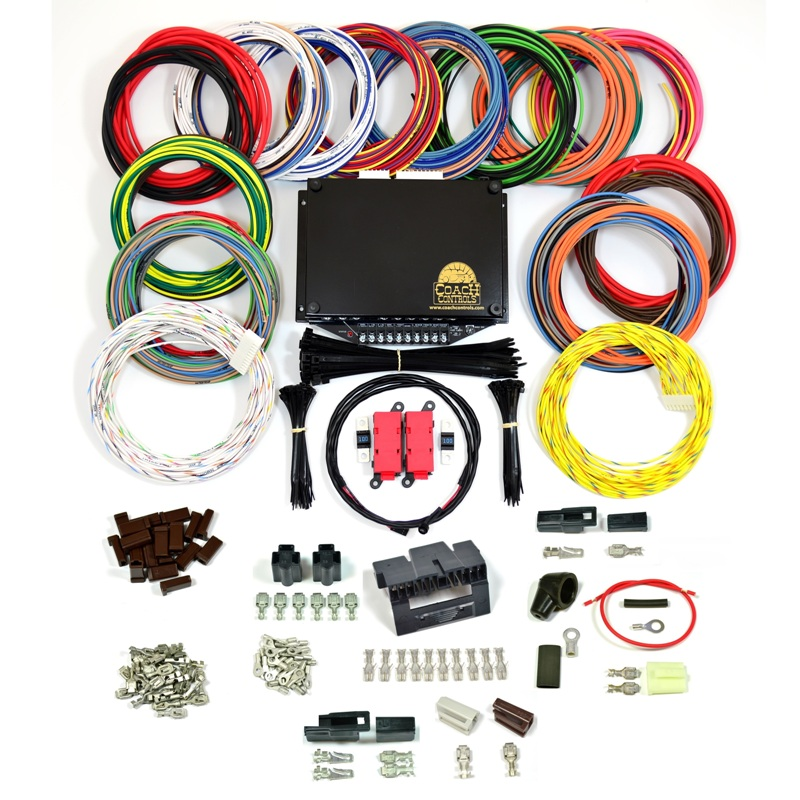 CoachKit_800 coach 1 wire kits coach controls, street rod wiring kits auto wiring harness kits at virtualis.co