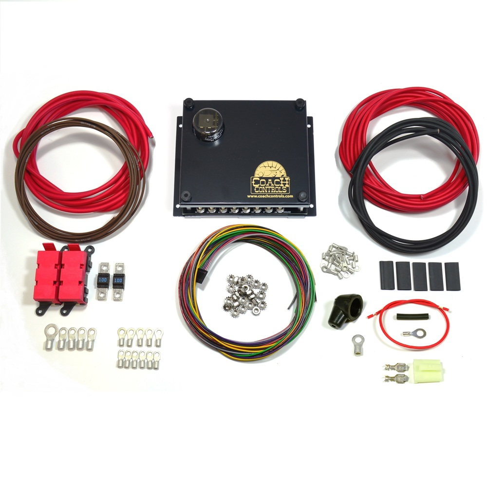 Coach 1 Wiring Kit 78500 Controls Street Rod Control Panel And Harness For Hot Rods Roadster 18 Base