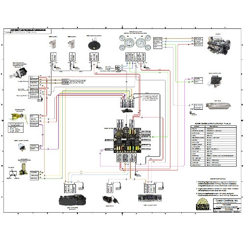 roadster system wiring diagram wdiag 18 24 50 coach controls rh coachcontrols com simple hot rod wiring diagrams ez hot rod wiring diagram