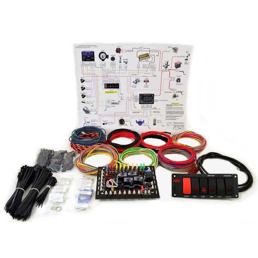 K&R Super Duty Drag Race Wire Kit