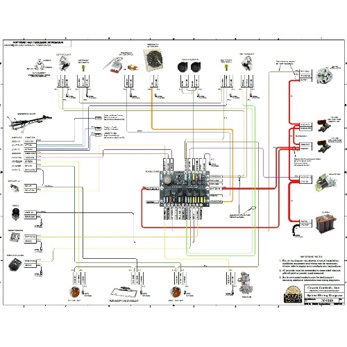 wiring kits for street rods owner manual \u0026 wiring diagram Hot Rod Wiring For Dummies